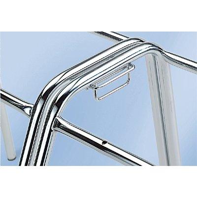 Reihenverbinder - für Schalenstuhl HxBxT 810 x 520 x 540 mm