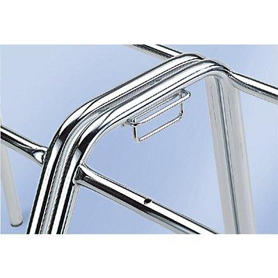 Reihenverbinder, für Stuhl HxBxT 795 x 420 x 515 mm Mehrpreis je Stuhl