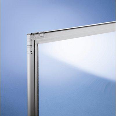 Cloison - verre acrylique, incolore