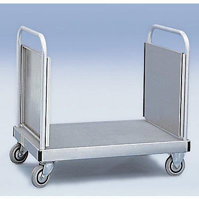 ZARGES Plattformwagen Aluminium - Innen-LxB 1000 x 655 mm - Tragfähigkeit 300 kg