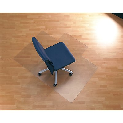 Bodenschutzmatte aus Polycarbonat - mit Ankernoppen für Teppiche und Teppichböden