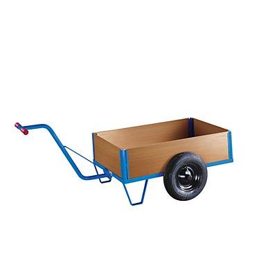 EUROKRAFT Zweirad-Handwagen - mit Kastenaufbau