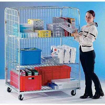 RIMO Transport- und Verkaufscontainer - mit Querstrebe
