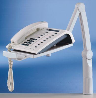 Telefonschwenkarm - 360° drehbar - schwarz