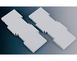 Erweiterungsset - zur Vergrößerung der Tragplatte auf 347 x 260 mm - lichtgrau