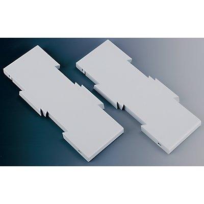 Erweiterungsset - zur Vergrößerung der Tragplatte auf 347 x 260 mm
