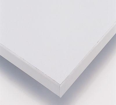 RAU Arbeitstisch, höhenverstellbar - 800 – 850 mm, Spanplatte melaminharzbeschichtet
