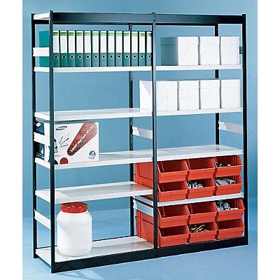 Büro-Regalsystem, ohne Rückwand - Regalhöhe 2600 mm