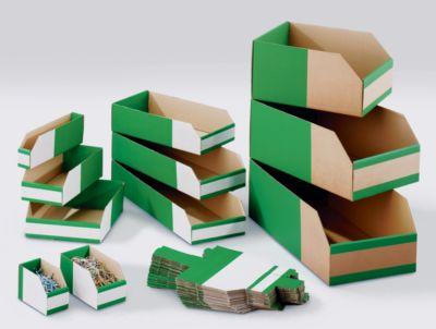 Karton-Regalkasten, faltbar - VE 50 Stk