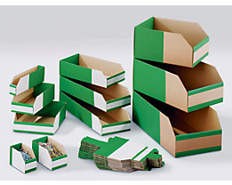 Karton-Regalkasten, faltbar - VE 75 Stk