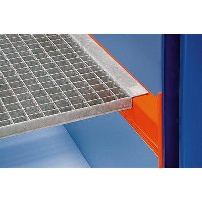 SLP Palettenregal-Boden - Gitterrostboden, Trägerlänge 1825 mm