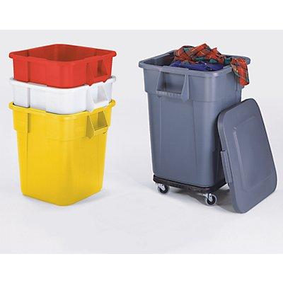 Rubbermaid Mehrzweck-Behälter, quadratisch - Inhalt 105 l, LxBxH 550 x 550 x 580 mm