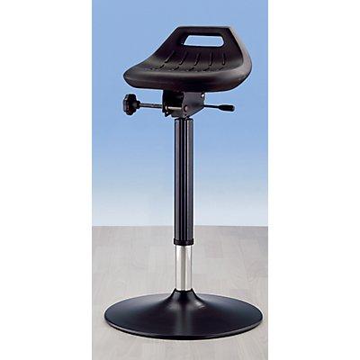 bimos Industrie-Stehhilfe - mit Tellerfuß - Sitz um 360° drehbar