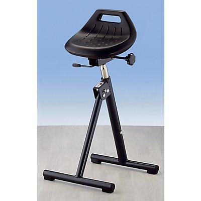 bimos Industrie-Stehhilfe - mit klappbarem Fußgestell - Sitz neigungsverstellbar