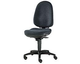 Topstar Siège de bureau ergonomique, mécanisme synchrone, assise ergonomique - habillage 33 % laine, 67 % polyester