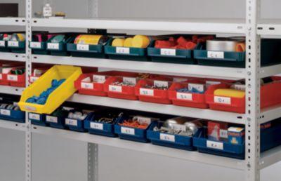 Etiketten - für Regalkasten, Höhe 30 mm
