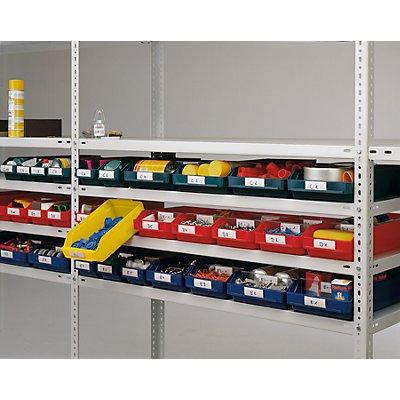 STEMO Etiketten - für Regalkasten, Höhe 30 mm