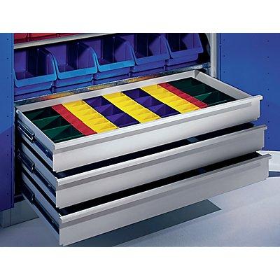 Schubladeneinteilungs-Set - Kunststoffkästen