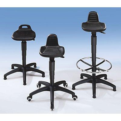Arbeitshocker - Sitz aus PU-Schaum