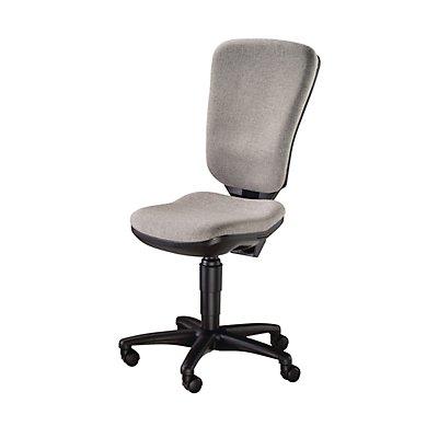 Topstar Bürodrehstuhl, Permanentkontakt und hohe Rückenlehne - Bandscheibensitz, ohne Armlehnen
