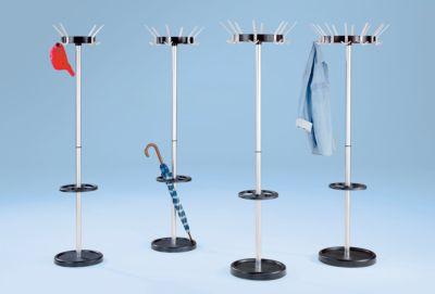 Garderobenständer, klassisch - aus Stahl