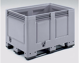 Großbehälter, Standard-Ausführung - Inhalt 535 l - Ausführung 3 Kufen, ab 6 Stk