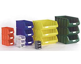 Sichtlagerkasten aus Polyethylen - LxBxH 167 x 105 x 82 mm