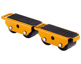 QUIPO Transportroller mit Nylonrollen - verbindbar, VE 2 Stk