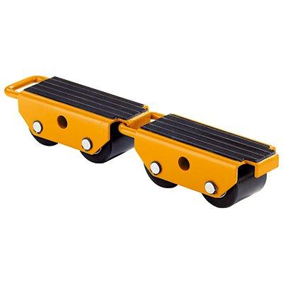 QUIPO Transportroller mit Nylonrollen - verbindbar, VE 2 Stk, Tragfähigkeit 2500 kg