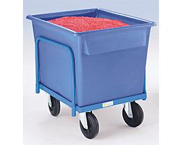 EUROKRAFT Kastenwagen für Kunststoffwanne - Tragfähigkeit 250 kg