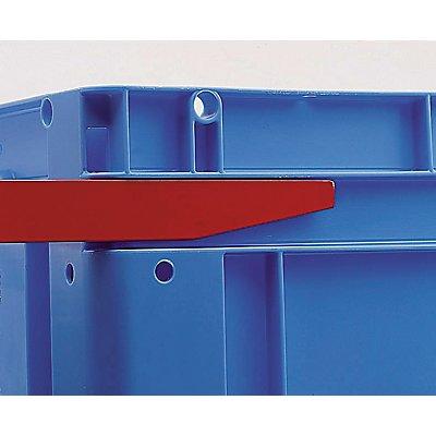 utz Euronorm-Stapelbehälter - Außen-LxBxH 600 x 400 x 270 mm