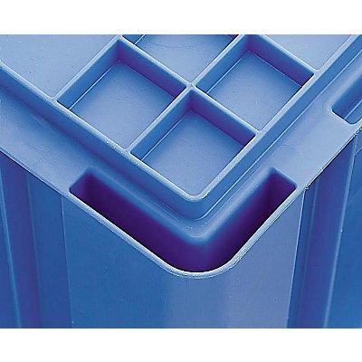 utz Euronorm-Stapelbehälter - Außen-LxBxH 400 x 300 x 120 mm
