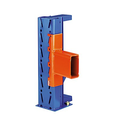 SLP Palettenregal-Stützrahmen, Traglast max. 10000 kg - Stützrahmenhöhe 3855 mm