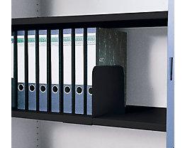 Aktenstütze, aufschiebbar - lichtgrau, VE 5 Stk - Höhe 200 mm