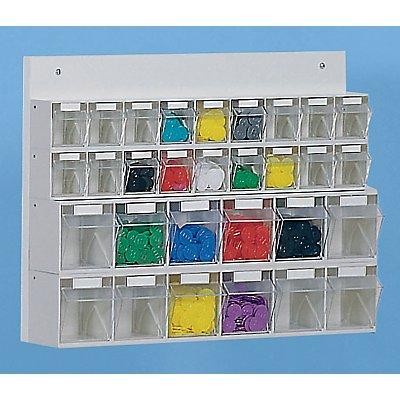 Klappkasten-Kombination aus Polystyrol - HxBxT 410 x 600 x 108 mm