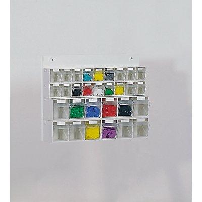 Lockweiler Klappkasten-Kombination aus Polystyrol - HxBxT 410 x 600 x 108 mm
