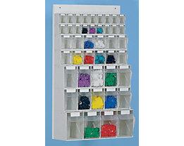 Combinaison de bacs pivotants en polystyrène - h x l x p 900 x 600 x 185 mm