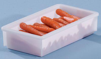Kunststoff-Stapelbehälter - Inhalt 8 l, Außenmaße LxBxH 450 x 255 x 105 mm