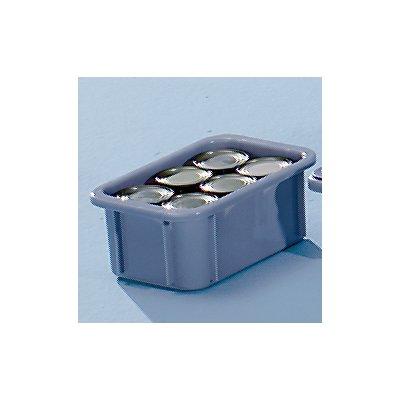 Stapelbehälter aus Polypropylen - Inhalt 5 l, Außenmaße LxBxH 300 x 200 x 125 mm
