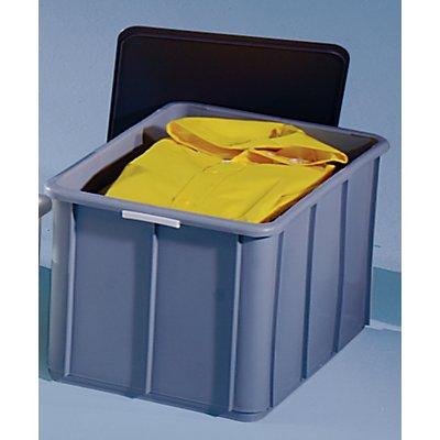 Stapelbehälter aus Polypropylen - Inhalt 60 l, Außenmaße LxBxH 600 x 400 x 339 mm