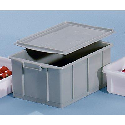 VECTURA Kunststoff-Stapelbehälter - Inhalt 23 l, Außenmaße LxBxH 460 x 330 x 202 mm