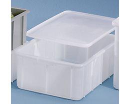 Bac gerbable en plastique - capacité 50 l, dim. ext. L x l x h 660 x 450 x 225 mm
