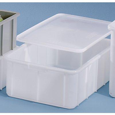 VECTURA Kunststoff-Stapelbehälter - Inhalt 50 l, Außenmaße LxBxH 660 x 450 x 225 mm