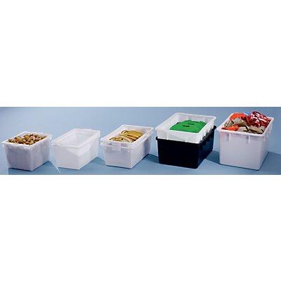 GRAF Stapelbehälter aus Polyethylen, konische Bauform - Inhalt 65 l