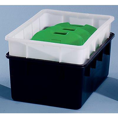 GRAF Stapelbehälter aus Polyethylen, konische Bauform - Inhalt 160 l