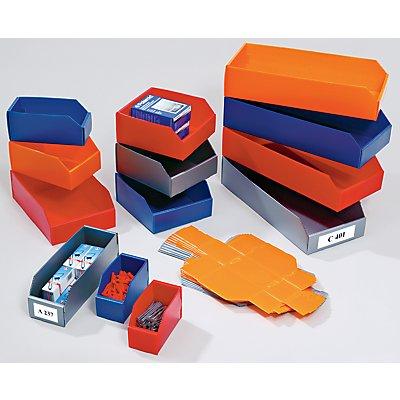 Bac de stockage pliant en plastique - L x l x h 450x100x100 mm