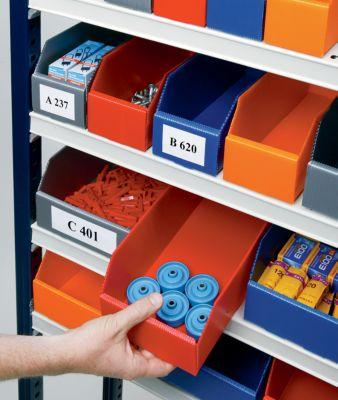 Kunststoff-Regalkasten, faltbar - LxBxH 300 x 150 x 100 mm