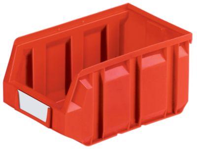 Sichtlagerkasten aus Polyethylen - LxBxH 237 x 144 x 123 mm