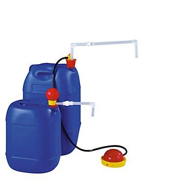 Kleingebinde-Pumpe - PP-Fußpumpe - Tauchtiefe 900 mm