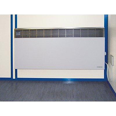 Elektro-Wandkonvektor - mit Thermostat, Leistung 2500 Watt - BxHxT 700 x 450 x 100 mm, Mehrpreis